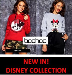 NEW IN! WOMEN'S DISNEY COLLECTION - Fab Sweats and Hoodies!
