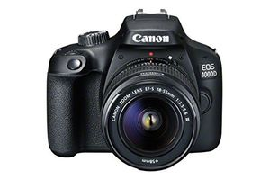 OVER £100 off at AMAZON! Canon EOS 4000D DSLR Camera & 18-55mm Lens