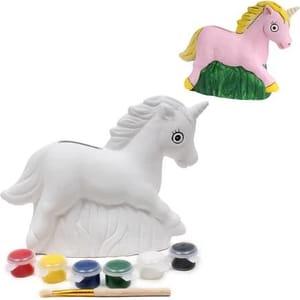 Paint Your Own Unicorn Money Box