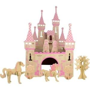 3D Wooden Castle Puzzle