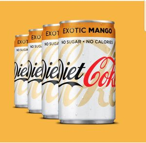4 Free Cans of Mango Diet Coke