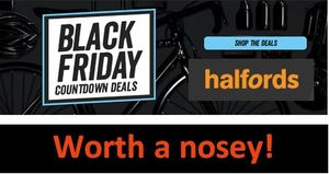 HALFORDS BLACK FRIDAY COUNTDOWN HAS STARTED - Bikes, Scooters & More