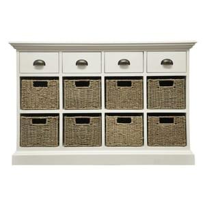 Rivera 4 Drawer 8 Basket Storage Furniture
