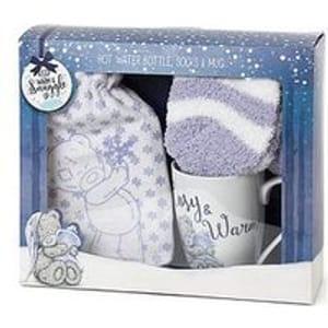 Me to You Hot Water Bottle, Mug and Socks Gift Set Free C&C