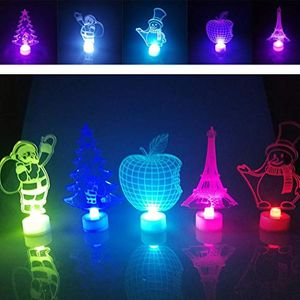 3D LED Light Touch Night Light Table Lamp Holiday Gift Home Decoration
