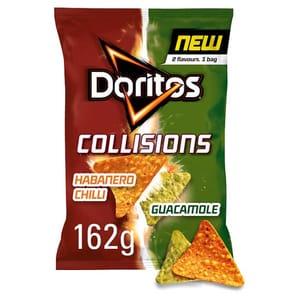 HALF PRICE Doritos Habanero and Guacamole Tortilla Chips 162G