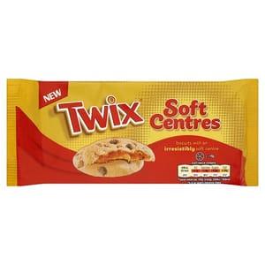 HALF PRICE Twix Soft Centre Biscuits 144G