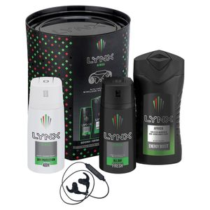 Lynx Africa Trio & Wireless Ear Phones Gift Set Free C&C