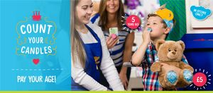 Buildabear Pay Your Age Birthday Treat