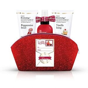Baylis & Harding Beauticology Special Delivery Clutch Bag Gift Set, Red