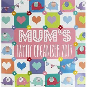 Mums Organiser Calendar with Code Free Click and Collect