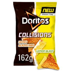 HALF PRICE Doritos Honey Rib and Lemon Tortilla Chips 162G