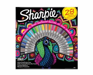 *HALF PRICE* Sharpie Permanent Markers Pack of 28 Assorted
