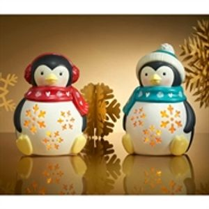 Buy 2 Ceramic Light-up Penguins for £8