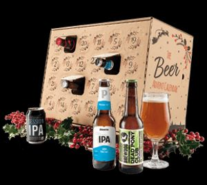 24 Beers Advent Calendar plus Wine £19.98