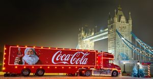 Free Can of 150ml Cola from Cola Truck