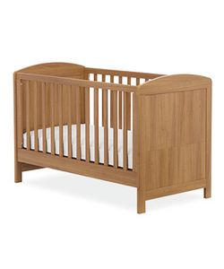 MASSSIVE DISCOUNT Mothercare Padstow Cot Bed- Oak Effect