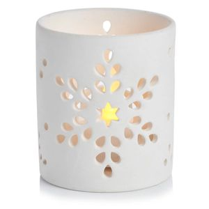 Christmas Winter Wonder Ceramic Tealight Holder
