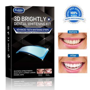 25% off Foshine Teeth Whitening Strips Activated Charcoal