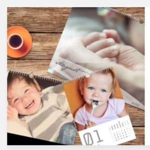 FREE Personalised Baby Calendar