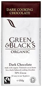 MISPRICE? GREEN & BLACK'S Organic Chocolate Dark 150g (Pack of 15)