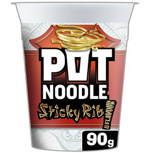 HALF PRICE Pot Noodle Sticky Rib 90G
