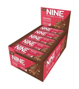 NINE Original Seed Bar, 40g, Pack of 20