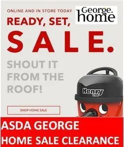 ASDA GEORGE HOME CLEARANCE - up to 50% off HOMEWARES