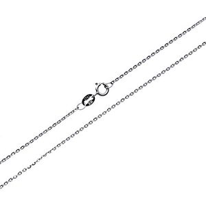 Bright Silver Chain for Lightweight Pendant