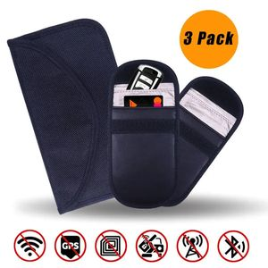 Anti Car Theft - Signal Blocking Pouch for Car Key Passport Phone Credit Card