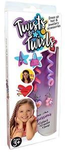 Twist N Twirls Hair Accessories 2pk