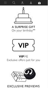 Hotel Chocolat Loyalty Card Birthday Free Gift