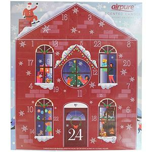 Pure Air Airpure Scented Candle House Advent Calendar