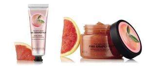 Pink Grapefruit Body Scrub and Hand Cream