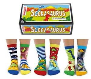 Odd Socks? Yes Please Mum! Sockasaurus Oddsocks for Boys (Dinosaurs!)