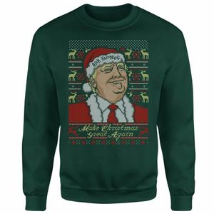 Make Christmas Great Again Christmas Jumper Only £14.99