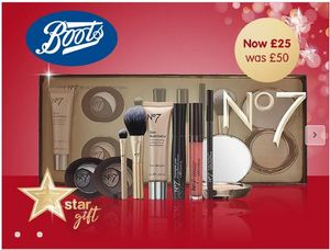 No7 Beauty Collection HALF PRICE STAR GIFT