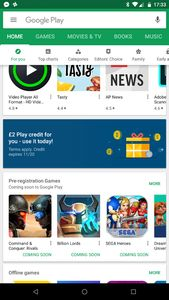 Free £2 Google Play Store Credit