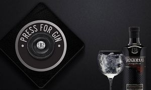 Free Set of Brockmans Gin Copa Glasses