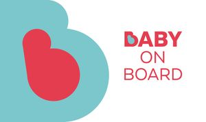 FREE BABY on BOARD BADGE ( West Midlands Only )