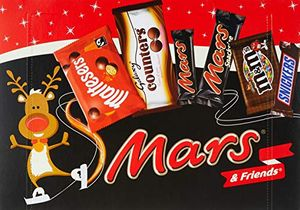 Mars & Friends Medium Selection Box, 144.3 G, Pack of 8