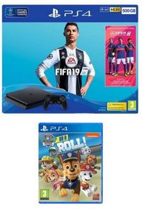 Playstation 4 FIFA 19 500Gb Console Bundle with Paw Patrol: On a Roll