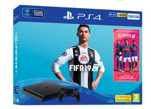 PS4 Slim 500GB Fifa 19 Console Only £247.85