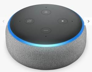 Amazon Echo Dot Smart Device with Alexa Voice Recognition & Control, Grey