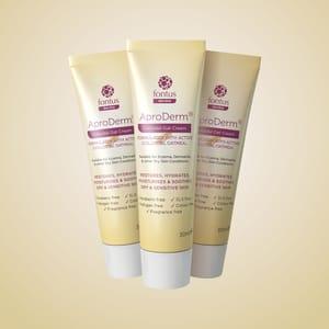 AproDerm Emollient Cream, AproDerm Gel and AproDerm Colloidal Oat Cream