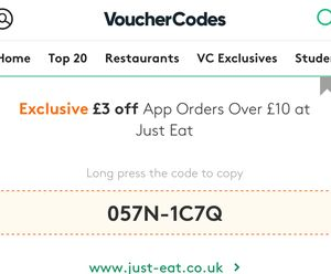 £3 off £10 Spend on App Orders