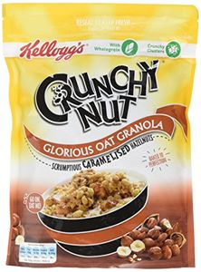 Crunchy Nut Caramelised Nuts Granola 380 G, Pack of 6