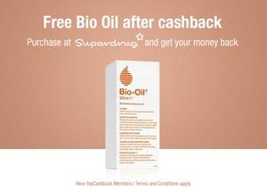 Free Bio Oil Bottle (Worth £8.99) Join Topcashback