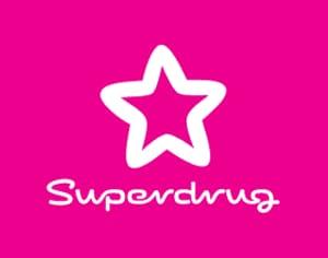£10.00 off a £50.00 Spend at Superdrug Online