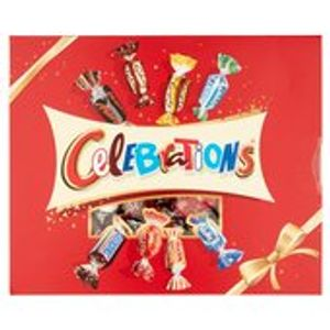 Celebrations 8 Famous Brands Gift Box 320g